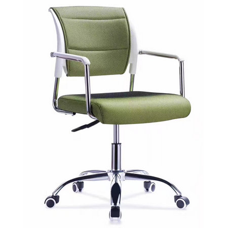 Foshan wholesale cheap screw lift staff office mesh fabric swivel moving chair