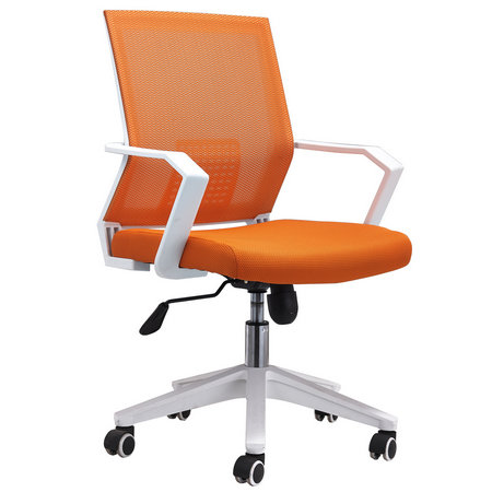 China 360 degree swivel movement mesh office staff operator chair rolling armchair