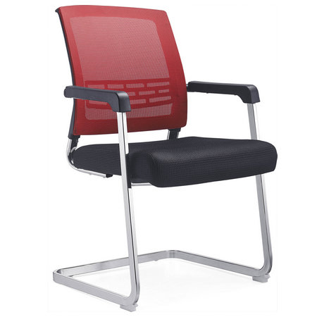 Alibaba online heated metal mesh conference meeting room chair reception seats without wheels
