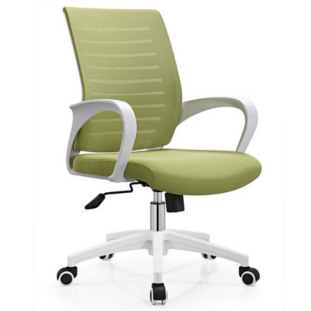 CIFF commercial furniture mesh staff worker chair swivel lift office computer seating in China