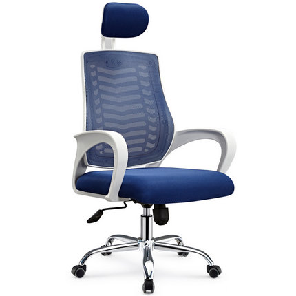 China OEM on promotion office staff rolling lift swivel task seating mesh computer chair with headres