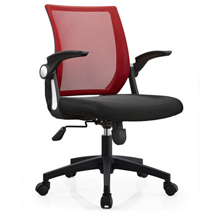 Shunde Factory Durable Office Room Computer Staff Rolling Task Chair Adjustable Armrest Working Seati