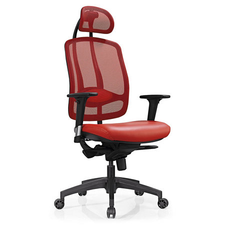 Foshan ergonomic design high back full mesh office rolling chair with adjustable headrest