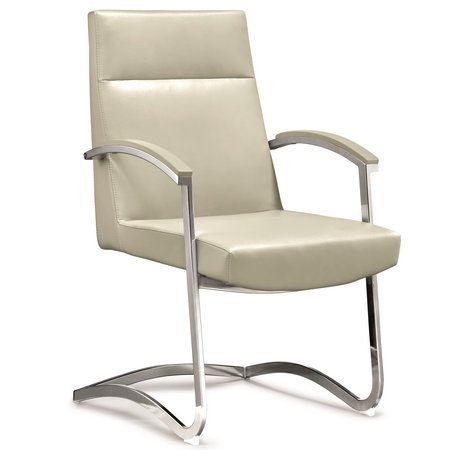 Buy Low price luxury high back visitor armrest conference meeting room office leather chair
