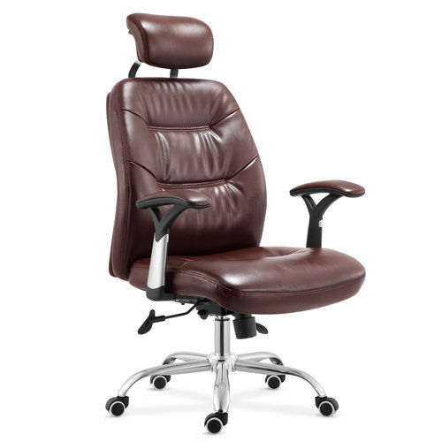 Affordable Leather Brown Seating Concepts Executive Manager Computer Chair