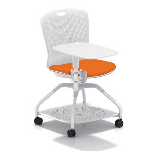 new design student study chairs conference training chair with rotated writing pad