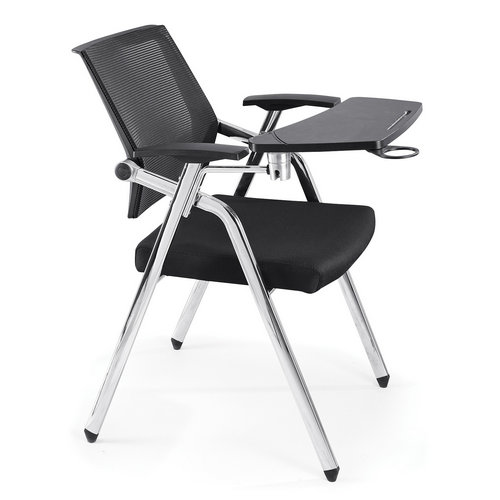 High quality student training chairs folding office study chair with writing board