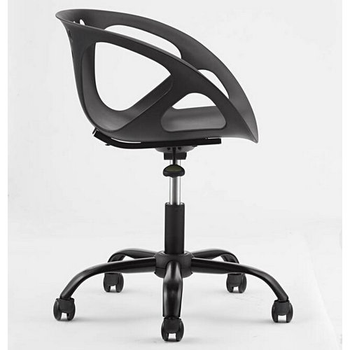 Comfortable Small Swivel Leisure Office Chair Low Back Computer